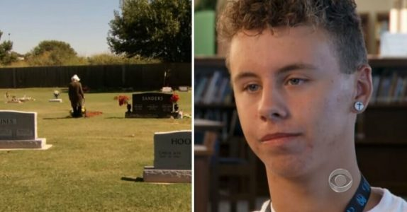 78-åringen ble ranet ved ektemannens grav. 1 uke senere ringer tyvens sønn med et uventet tilbud!