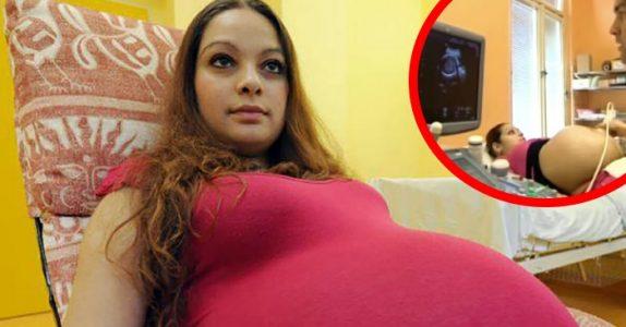 23-årige Alexandra trodde hun var gravid med tvillinger. Men det legene sa fikk henne til å gråte!