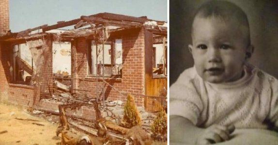 En fremmed reddet babyen fra flammene, men forsvant etterpå. 46 år senere avsløres mysteriet!