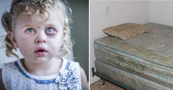 Foreldrene mishandler datteren til døde. Så finner politiet en lapp som knuser hjertet mitt!