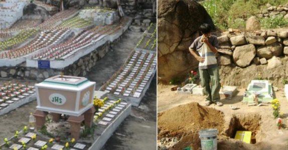 De finner 10.000 barn begravd i hagen. Når historien bak avsløres, knuser hjertet mitt!
