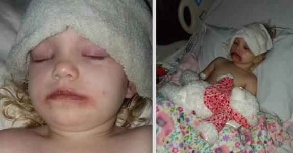 Plutselig hørte hun datteren skrike av smerte. På sykehuset avsløres den skremmende årsaken!