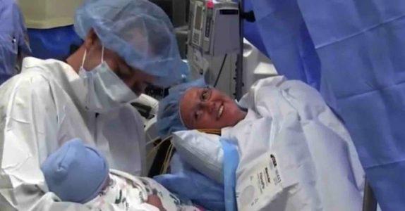 Mammaen var lettet over at fødselen gikk bra. Så gjør legen noe hun ALDRI kommer til å glemme!