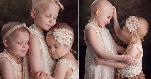 Disse tre jentene har kjempet mot kreft i årevis. Men det siste bildet fra 2018 rører meg til tårer!