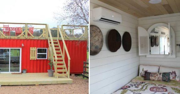 Kunne du ha bodd i en container? Du vil bli overrasket av hvor hjemmekoselig du kan få det!