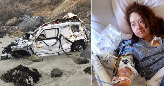 Hun ble funnet 1 uke etter bilulykken. Nå forteller hun historien om hvordan hun overlevde!