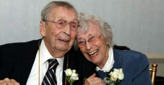De har vært gift i 78 år. Så dør de med kun to dagers mellomrom: En utrolig kjærlighetshistorie!