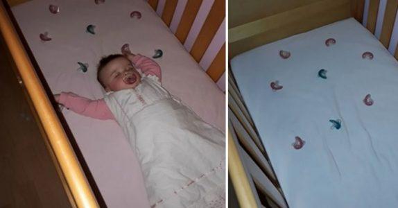 Denne moren har et spesielt triks for å få babyen til å sove gjennom natten. Nå deler hun det med verden!