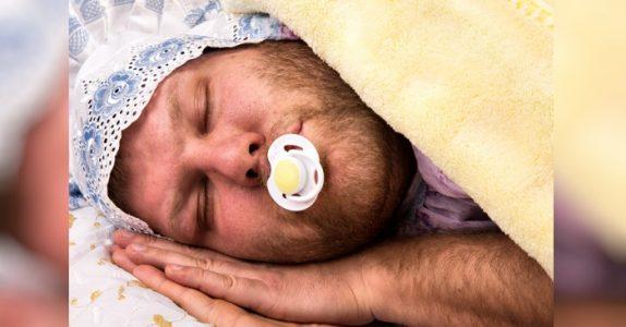Forskning viser: Menn er store babyer som gjør livet vanskeligere for kvinner!