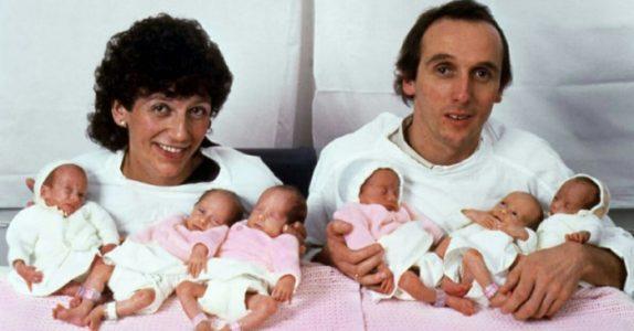 Noen av verdens første sekslinger har blittt voksne. Se hvordan de historiske jentene ser ut i dag!