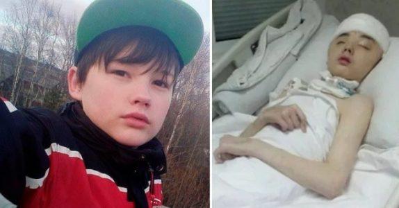 Tenåringen døde etter å ha reddet moren sin fra voldtekt. Nå hedres den unge helten!