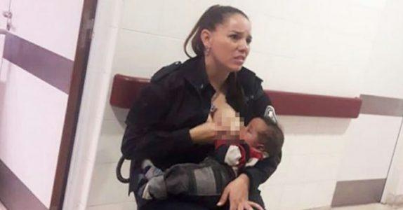 Ingen tør å røre den forlatte babyen som gråter av sult. Da gjør denne politikvinnen det utrolige!