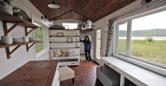 Lyst til å bo i ett lite hus? Da bør du se hva DENNE mammaen har gjort!