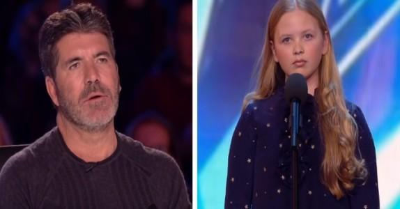 Juryen blir sjokkert av den nervøse 12-åringens valg av låt – sekunder senere får de gåsehud!