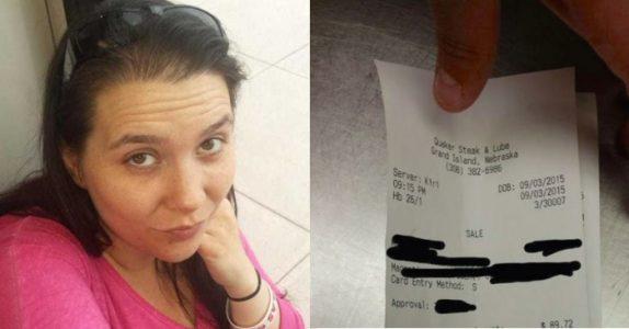 Alenemoren serverer en lastebilsjåfør – og skjelver av SJOKK når hun ser regningen