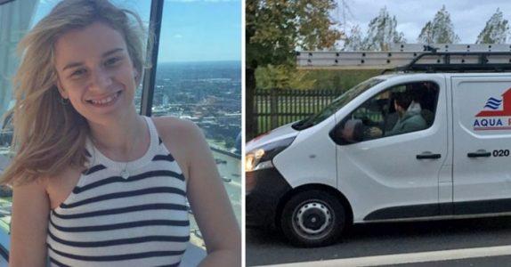 3 menn i en varebil trakasserer 22-åringen seksuelt. Da tar hun opp telefonen, og lærer dem en skikkelig LEKSE!