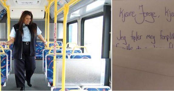 Bussjåføren ga barna et brev til foreldrene. Men når de leste det, begynte tårene å renne!