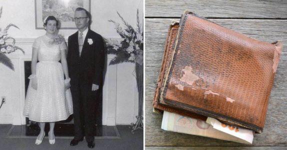 Kona hans døde etter 60 års ekteskap. Da finner han en HEMMELIG lapp i lommeboken hennes!