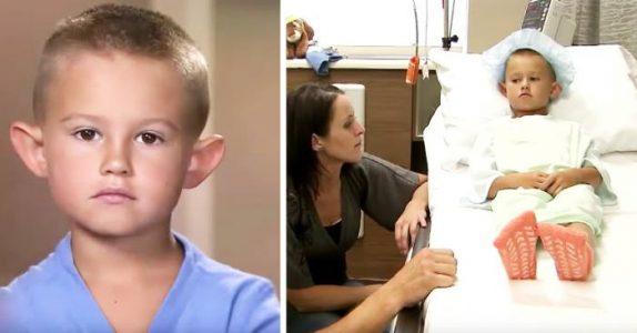 6-åringen blir mobbet for sine utstående ører. Da tar moren en drastisk beslutning!