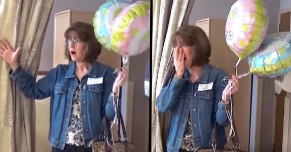 Hun tror kjønnet på det nyfødte barnebarnet er overraskelsen. Så finner hun ut at datteren har LØYET hele svangerskapet!