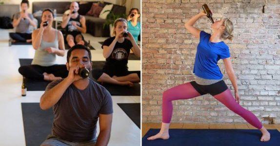 Øl-yoga er den nye, heteste treningstrenden. Du får nemlig drikke tre kalde ØL per økt!