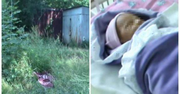 Hun ble sjokkert av en baby som lå i gresset. Men når legene kler av babyen gjør de en trist oppdagelse!