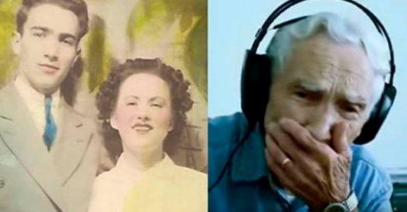 Da kona hans gikk bort, skrev 96-åringen en låt. Noen uker senere skjedde det noe FANTASTISK!