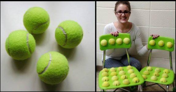 Læreren limte fast tennisballer på elevenes stoler. Grunnen er genial!