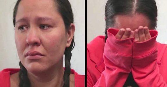 Den unge mammaen er i ferd med å bli kastet ut av leiligheten. Da gjør hennes 9 år gamle datter DETTE!
