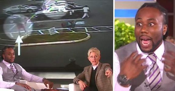 Han reddet en 76-åring fra et brutalt ran. Men når han intervjues i TV-studio, får han seg en STOR overraskelse!