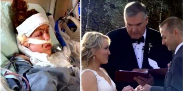 Eksen knivstakk henne 32 ganger. Men se på mannen som står ved alteret 6 år senere! Jeg GRÅTER!