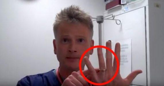 Har ringen satt seg fast på fingeren? Se legens hemmelige knep og du trenger ALDRI bekymre deg igjen!