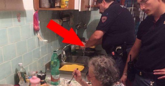 Naboene hørte skriking fra det eldre parets hus. Det politiet gjør da rører alle til tårer!