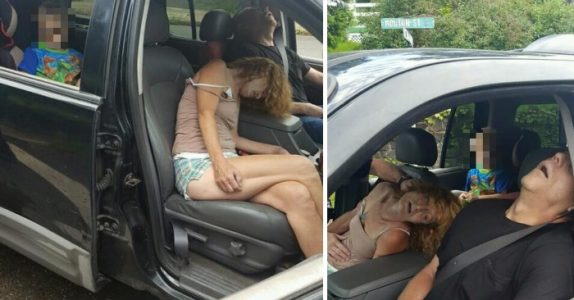 Hva politiet fant i denne familiens bil er hårreisende. Nå publiseres de grusomme bildene på nettet!