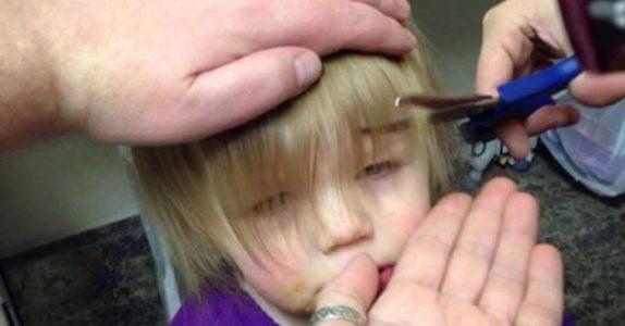Denne jenta har trolig de mest fantastiske frisyrene du har sett. Og det kan hun takke pappaen sin for!