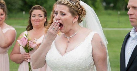 Hun mistet sønnen sin før hun skulle gifte seg. Men når hun ser hvem som dukker opp i bryllupet, kommer tårene!