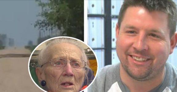 Postmannen skulle levere post til 94-åringen. Da han hørte henne gråte, brøt han seg inn!