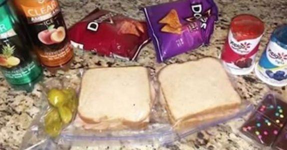 Sønnen begynte å be moren om en ekstra matpakke. Uker senere innser hun at den ikke var til han!