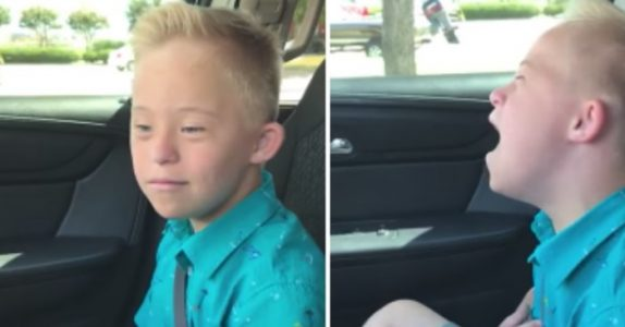Gutten med Downs syndrom synger til en av Whitney Houstons klassikere. Og nå vil millioner synge med!