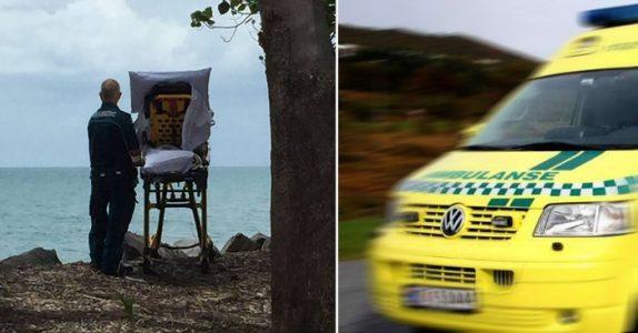 Den døende gamle kvinnen har ett siste ønske. Da gjør ambulansearbeiderne noe fantastisk!