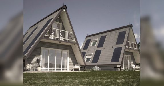 Dette fantastiske huset tar bare 6 timer å bygge. Og det koster bare 270.000 kroner!