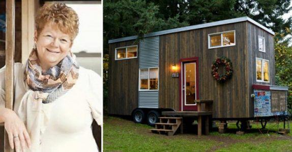 Den fattige alenemoren bygger sitt eget hus på 18 kvadratmeter. En titt på innsiden og jeg er solgt!