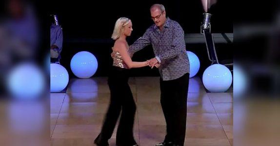 Publikum tror han er for gammel til å danse. Men SE nå når han begynner!