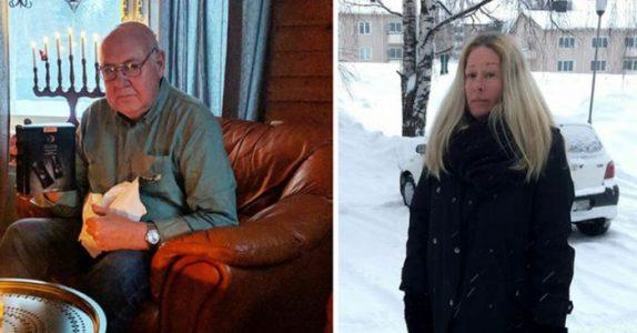 77 år gamle Lasse døde i bilen under snøstormen. Årsaken er ufattelig trist!