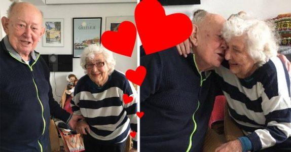 98 år gamle Inge flyttet inn på eldresenteret. Der fant hun sitt livs største kjærlighet!