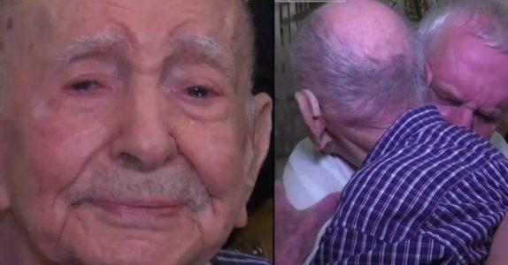 102-åringen trodde at hele familien ble drept under Holocaust. 70 år senere ser han et kjent ansikt!
