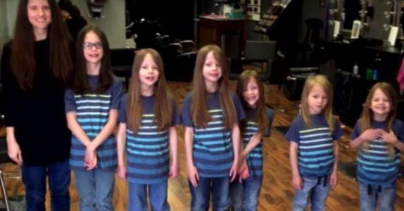 De 6 brødrene hånes for det lange håret sitt. Så klipper de av det og avslører en utrolig overraskelse!