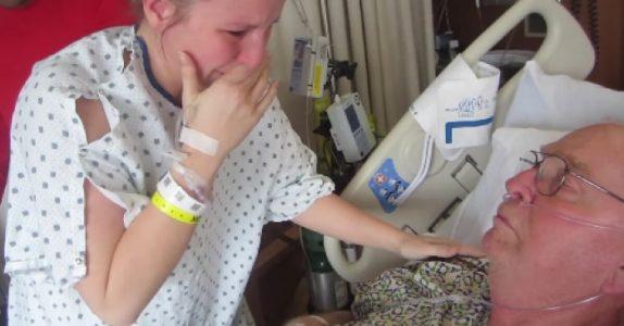 Datteren donerte en nyre til sin alvorlig syke pappa. Se det første møtet deres etter operasjonen!
