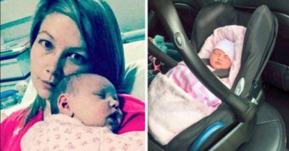 Moren fant babyen bevisstløs i bilen etter kjøreturen. Nå vil hun advare andre foreldre!