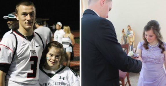 Gutten ga et løfte til venninnen. Flere år senere oppfyller han det og rører oss til tårene!